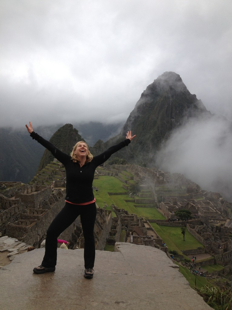 Freedom on Machu Picchu