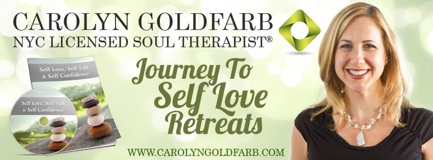 Carolyn Goldfarb Journey To Self Love Retreats Banner